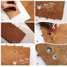 4mm, 5mm, 6mm occhielli fiore PUNCH DIE strumento Leather Craft abbigliamento ANTIVIBRANTI