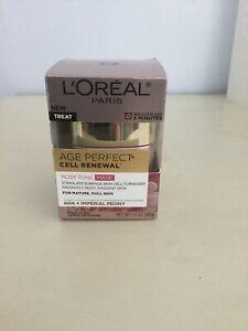 L'oreal Age Perfect Cell Renewal Rosy Tone Mask 1.7oz Jar NIB free Shipping!