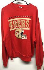 Vintage Champion San Francisco 49ers NFL Football SweatShirt, Sz XL, 80s