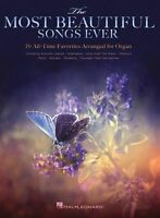Most Beautiful Songs Ever Favorite Tunes Themes Play ORGAN Keyboard Music Book