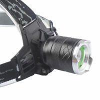 30000LM XML XM-L T6 LED Zoomable Headlamp Headlight Head Torch Light by 18650