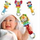 Animal Handbells Musical Developmental Toy Bed Bells Kids Baby Soft Toys Rattle