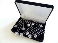 Accesorios de novia de color principal plata de metal para el cabello