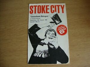1966/7 Stoke City v Tottenham Hotspur Spurs - League Division 1