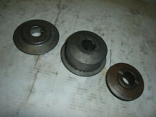 Double Pulley 3/4 Bore Snowblower Sheave Halves Auger Toro Ariens Snow Thrower