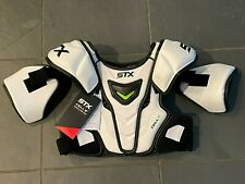 NEW w/ TAGS STX CELL IV LACROSSE SHOULDER PADS MEDIUM RETAIL $130