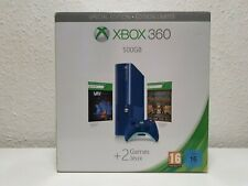 Microsoft Xbox 360 Special Limited Edition Blue Console PAL - New and Sealed