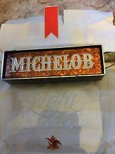 vintage michelob light lighted beer sign