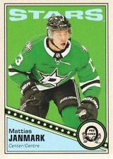 2019-20 O-Pee-Chee NHL Hockey Retro Blank Back Parallel #259 Mattias Janmark