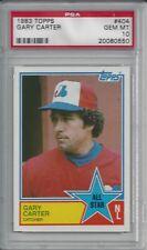 1983 Topps Gary Carter #404 All Star PSA 10 GEM MINT