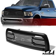 For 2010-2018 Dodge Ram 2500/3500 Matte Black Big Horn Front Hood Bumper Grille