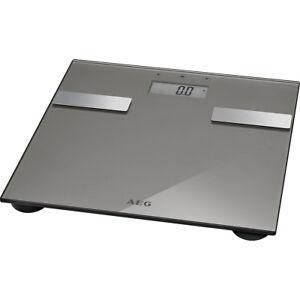 AEG PW 5644 Bascula de baño digital con análisis corporal 7 funciones cristal