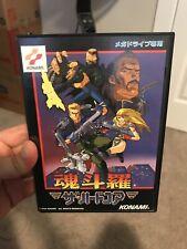 Rare Japanese Sega Mega Drive Konami Game Contra Hard Corps Complete In Box