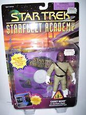 "1996 STAR TREK STARFLEET ACADEMY 5"" CADET WORF - NEW IN PACKAGE"
