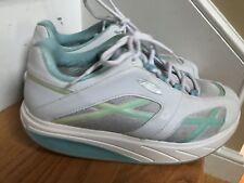 Mbt Shoes 400108-75 Size 9.5M white Ecu Walking Fitness Exercise Comfort