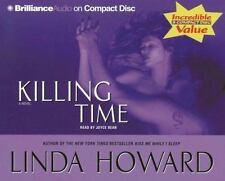 Killing Time by Linda Howard (2006, CD, Abridged)  (5065)