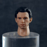 1/12 Spider-Man Tom Holland Head Sculpt Fit 6'' Male SHF Action Figure Body Toys