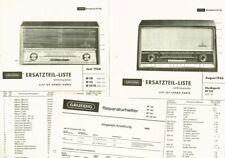 Grundig Musikgerät RF120 RF122 RF125 Ph Schaltplan + Stückliste original 1966