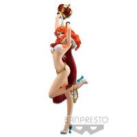 Banpresto One Piece Stampede Flag Diamond Ship Anime Figure Toy Nami BP39646