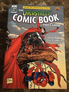 The Overstreet Comic Book Price Guide 2020 2021 McFarlane Spawn Spider-Man SC