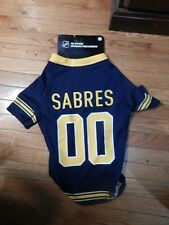 BRAND NEW NHL PET APPAREL BUFFALO  SABRES JERSEY  SIZE XL DOG SHIRT LICENSED