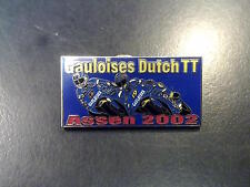 Pin Gauloises Dutch TT Assen 2002