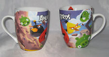 Angry Birds Coffee Cups Set of 2 Mugs Rovio Entertainment Movie Characters New