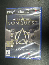 STAR TREK CONQUEST  PS2  NUOVO SIGILLATO