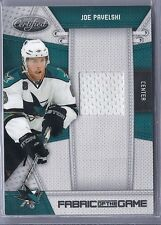 2010-11 CERTIFIED JOE PAVELSKI FABRIC OF THE GAME JERSEY SP /250