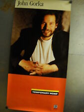 JOHN GORKA seldom seen 1992 PROMO POSTER in supermint condition