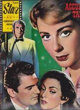 Super Star Cineromanzo N° 56/1959 - Agguato a Tangeri, Geneviève Page Gino Cervi