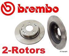 Set of 2 Brembo  Rear Disc Brake Rotor's for Acura & Honda
