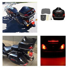 ABS Motorcycle Rear Trunk Box with Taillight/Turn Light For Honda Yamaha