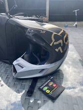 Fox V3 Preest MX Motocross Helmet MVRS & MIPS size adult small - Grey / Black