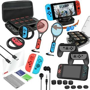Nintendo Switch 24-Piece Deluxe Accessory Travel Pack - OLED Compatible