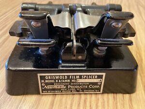 Vintage Griswold Neumade JR Model Splicer 8MM & 16MM Perfect