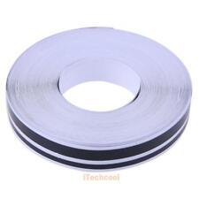 32ft 4mm X 2mm Pinstriping Pinstripe Vinyl Tape Sticker Double Line (Black) #T1K