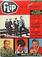 Rare First Issue Flip Teen Magazine~ September 1964~ Beatles Cover~ Vol. 1 No. 1