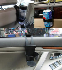 Black Universal DI Car MO Truck Door Mount Drink Bottle Cup Holder Stand NEW