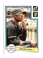 Starling Marte 2016 PANINI DONRUSS, 1982 diseño, Baseball cartas