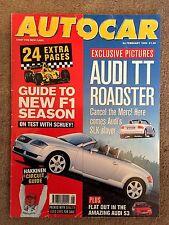 AUTOCAR MAGAZINE 24-FEB-99 - AC Ace, Audi S3, Lancer Evo Vl, BMW 328Ci E46