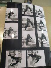 mylene farmer retirage 20x30 planche contact promo    photo  dont inedits