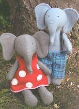 PARSLEY & BEET - Sewing Craft PATTERN - Cloth Rag Doll Elephant Pattern