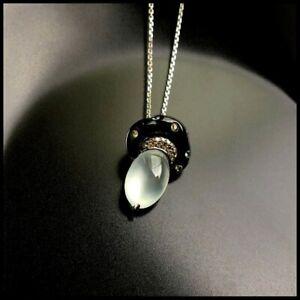 【KOOJADE】Glassy Emerald Mushroom Jadeite Jade Pendant《Grade A》