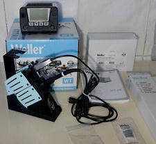 Weller WT 2M soldering station 150W + WSP80, Tweezer WMRT double holder newer