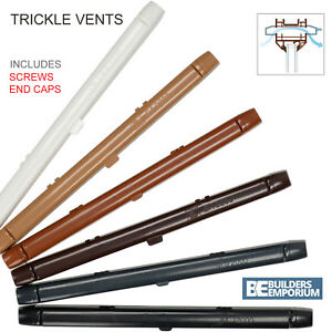 Trickle Slot Vents 260mm or 410mm Ventilation Upvc & Timber Window