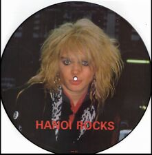 HANOI ROCKS LIMITED EDITION INTERVIEW RARE Vinyl Record Picture Disc