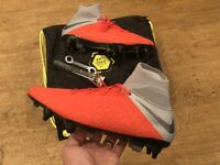NIKE HYPERVENOM PHANTOM 3 ELITE SG PRO AC ACC RED TOP SPEC UK 8 EUR 42.5 US 9