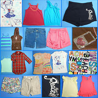 15 Piece Lot of Nice Clean Girls Size 7 Spring Summer Everyday Clothes ss36