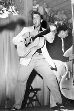 Young Elvis Presley LIVE IN 1955 Guitar First Album Cover Art Print 24x36
